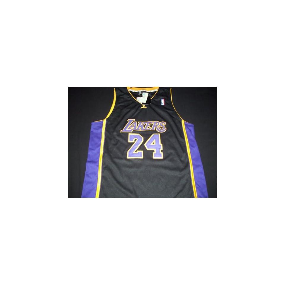 bc0f04535 Kobe Bryant Adidas Black Mamba Los Angeles Lakers Jersey Size 56 on ...