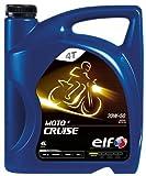 elf(エルフ) バイク用 4st エンジンオイル/MOTO4 CRUISE[クルーズ] / 20W50 4ℓ [HTRC3]