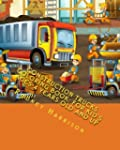 Construction Trucks Coloring Book: Fo...