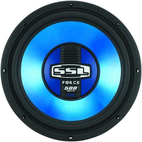 SSL FS8 FORCE 8-Inch Single 4 Ohm Voice Subwoofer, 250 Watts