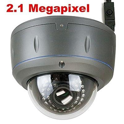 GW Security HDSDI 1080P 2.8-12MM Les Outdoor or Indoor Security Camera