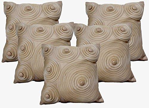 Dekor World Floral Cushion Cover