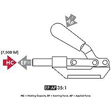 DE-STA-CO 640 Straight-Line Action Clamp