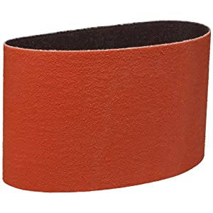 "3M Cloth Belt 747D, Ceramic Grain, 3-1/2"" Width x 15-1/2"" Length, 80 Grit, Orange (Pack of 50) at Sears.com"