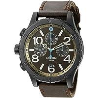 Nixon A363-2209 48-20 Chronograph Men's Quartz Watch (Brown)