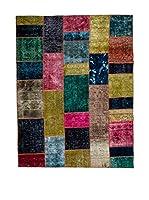 CarpeTrade Alfombra Vintage Persian Collage (Multicolor)