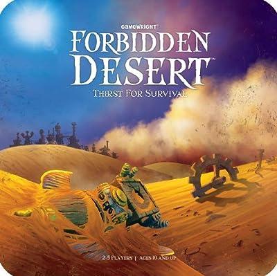 6 X Forbidden Desert Board Game from Ceaco
