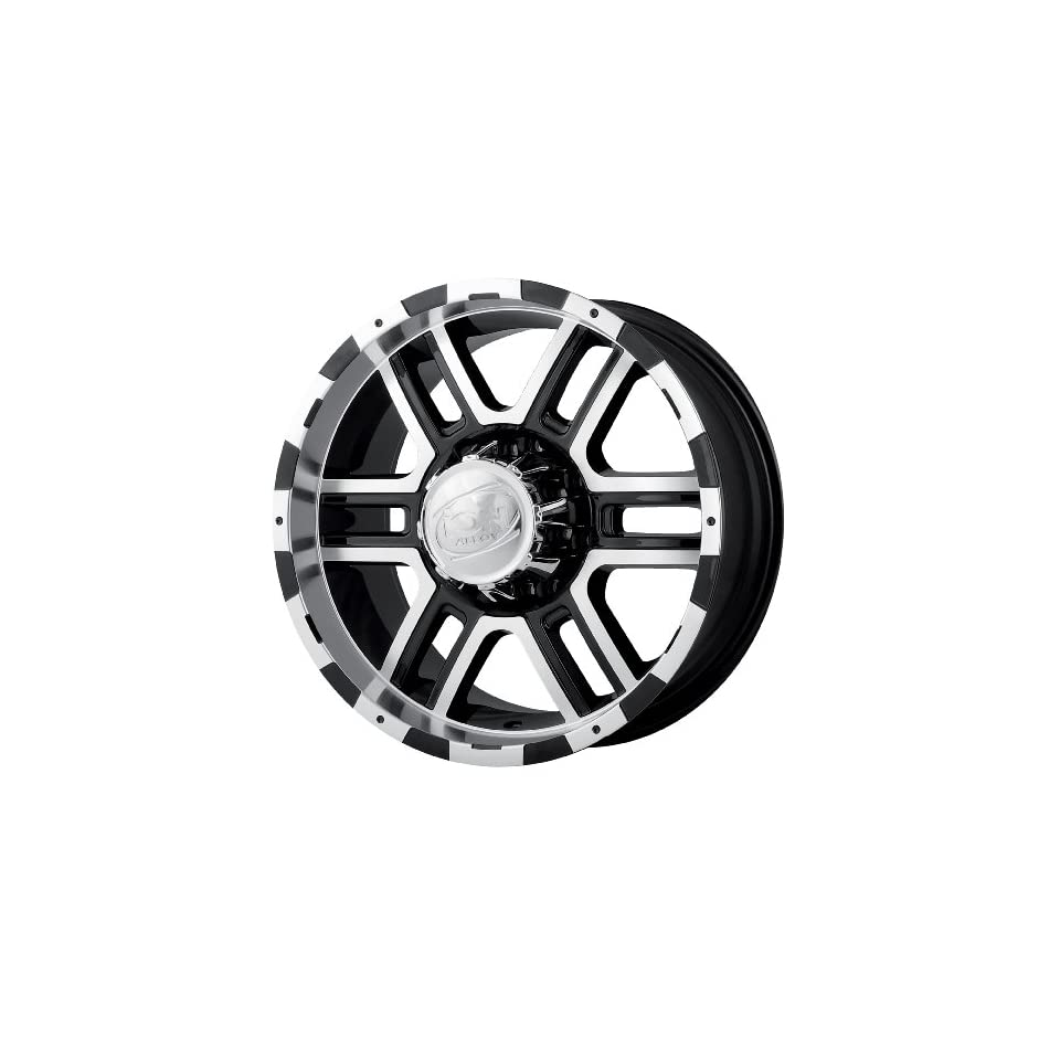 Ion Alloy Style 179 Black Wheel with Machined Face/Lip (16x8/5x127mm)