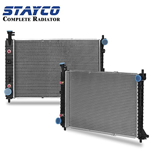 STAYCO Radiator 2138 for 1997-2004 Ford Mustang 3.8L V6 (Ford Mustang V6 compare prices)