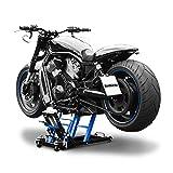 Motorcycle Jack Scissor Hydraulic Lift ConStands L black-blue for Triumph / Victory Thunderbird 1600 , Thunderbird 1600 Storm, Hammer/ S, Kingpin, Vegas, Vegas 8-Ball, Vegas High Ball, Vegas Jackpot
