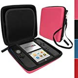 IGadgitz Pink EVA Hard Case Cover for Nintendo 2DS