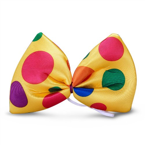 Giant Clown Bowtie Party Accessory