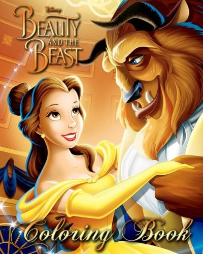 Beauty and the Beast: Coloring Book for Kids and Adults, Disney