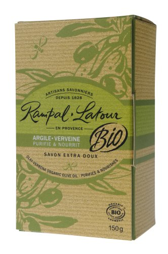 Rampal Latour ランパル・ラトゥール オーガニックソープ クレイ&バーベナ 150g