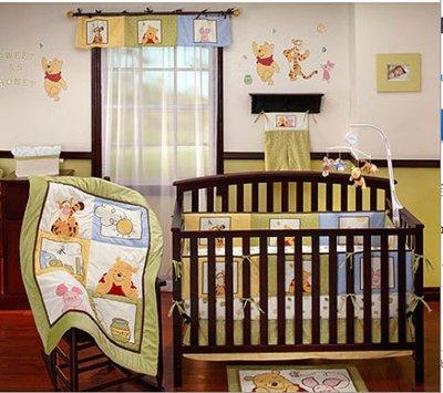 Winnie the Pooh Baby Bedding Sunshine Patch