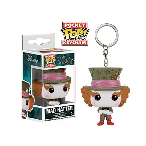 Funko - Porte Clé Disney - Mad Hatter Pocket Pop 4cm - 0849803075927