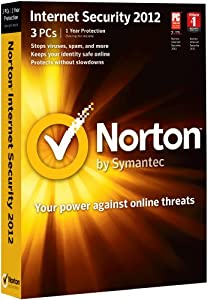 Norton Internet Security 2012, 3 Computers, 1 Year Subscription (PC)