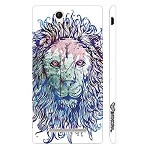 Sony Xperia C3 Leonid designer mobile hard shell case by Enthopia