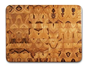 Proteak Teak Cutting Board Rectangle 16-by-12-by-2-Inch End Grain