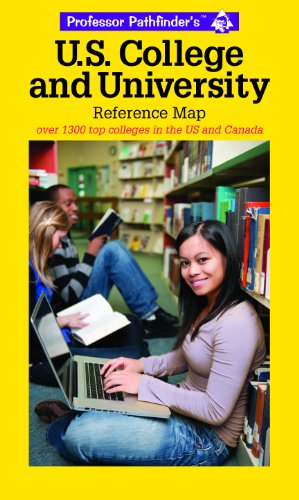 US College & University Reference Map: Over 1400 top colleges in the US and Canada
