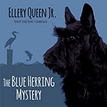 The Blue Herring Mystery: The Ellery Queen Jr. Mysteries (       UNABRIDGED) by Ellery Queen Jr. Narrated by Traber Burns