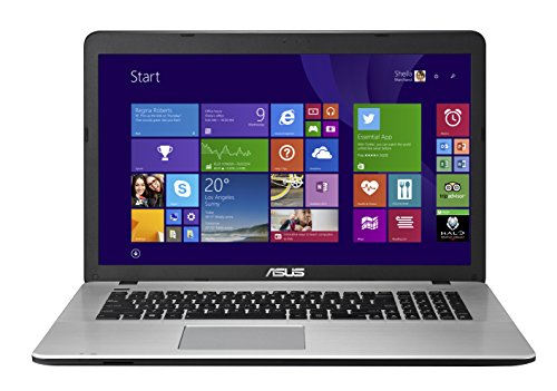ASUS X751LX-DB71 17.3-Inch IPS FHD Gaming Laptop, i7, 1 TB, 8 GB RAM, NVIDIA GeForce GTX 950M Graphics (Free Upgrade to Windows 10)