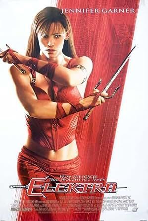Elektra 2003 Original USA Movie Poster Rob Bowman Jennifer Garner at