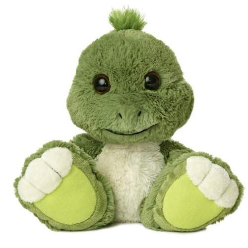 "Aurora World Taddle Toes Snorkel Turtle Plush, 10"" Tall"