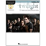"Instrumental Play-Along Twilight (Violin) Vln Book/Cdvon ""Various"""