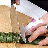 1 X Economic Unique Food Knife Cut Vegetable Palm Rest Finger Protector Hand Guard