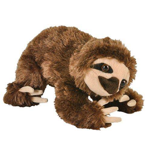 "8"" Brown Sloth Bear Plush Stuffed Animal Toy front-634798"