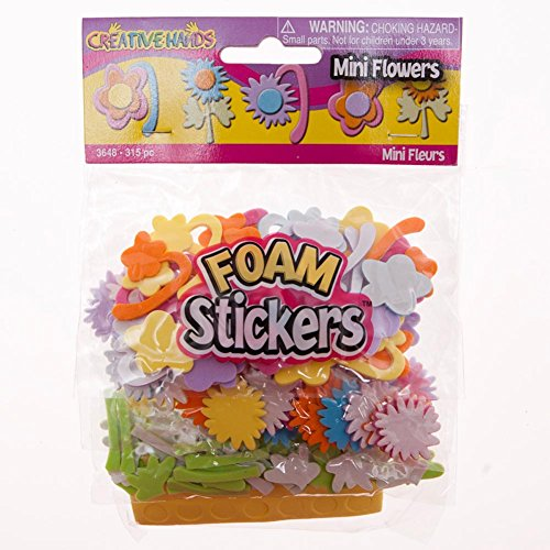 Foam Flower Sticker Set - 1