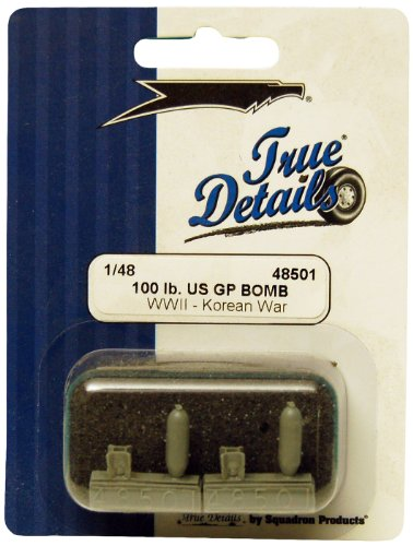 True Details 100-Pound WW II Korea War US GP Bomb Set