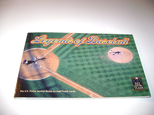 Legends of Baseball-Set of 20 Postcards with Stamps - 1