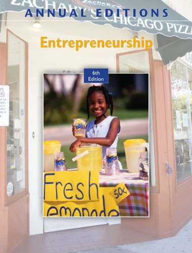 Annual Editions: Entrepreneurship, 6/e with FREE Annual...
