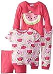 Gerber Baby-Girls Infant 4 Piece Cott...