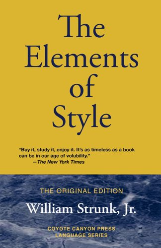 51Lu%2BRQJmfL + The Elements of Style: The Original Edition SALE
