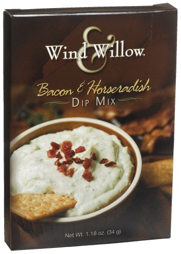 Wind & Willow Bacon & Horseradish Dip, 1.18-Ounce Boxes (Pack of 6)