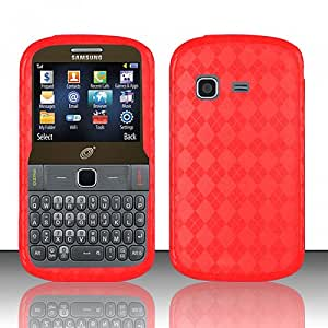 Red Flex Cover Case for Samsung SGH-S390G: Cell Phones & Accessories