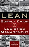 img - for Lean Supply Chain and Logistics Management by Paul Myerson (Feb 6 2012) book / textbook / text book
