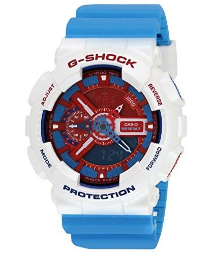 Casio G-Shock World time Analog-Digital Multi-Colour Dial Men's Watch - GA-110AC-7ADR (G446)