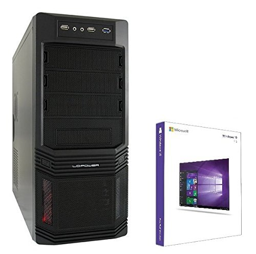 Gaming PC Ultra i7 Intel Core i7 6700 4x 4.00GHz mit Turbo-Frequenz • nVidia GeForce GTX1070 8GB • 240GB SSD • 1TB HDD • 16 GB DDR4 • Windows 10 Pro • DVD RW • USB3.0 • WLAN • Gamer PC