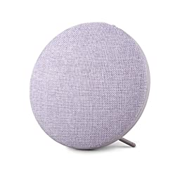 Photive Sphere Portable Wireless Bluetooth Speaker with Built In Stand- lavender