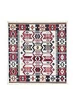 Floor Decor Alfombra Doubleface Osman (Rojo/Marfil/Multicolor)