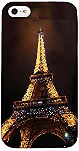 Timpax Protective Armour Case Cover lightweight construction easily slides in and out of pockets. Multicolour Printed Design : Eiffel Tower.100% Compatible with Apple iPhone 4 / 4S