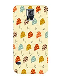 Bagsfull Designer Printed Matte Hard Back Cover Case for Samsung Galaxy S5