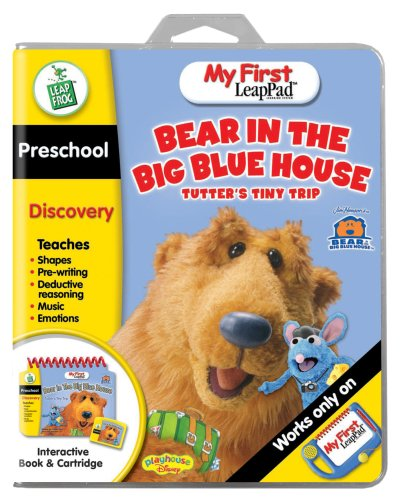 LeapFrog My First LeapPad Educational Book: Bear in the Big Blue House - Tutter's Tiny Trip - 1