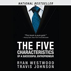 The Five Characteristics of a Successful Entrepreneur Audiobook