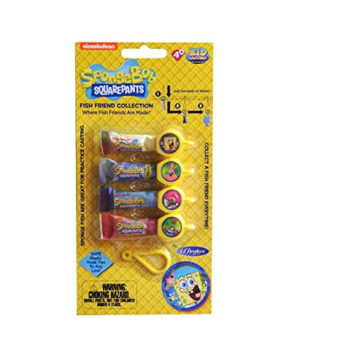 Kid Casters SBBP1 Sponge Fish Training Lures Toy - 1