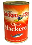 Chicken of the Sea, Chub Mackerel, 15-Ounce Cans (Pack of 24)